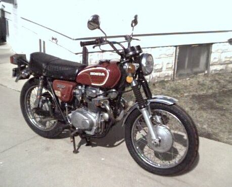 Bikes - 1972 Honda CL350 Scrambler